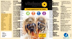 VitaFeed Patty label English