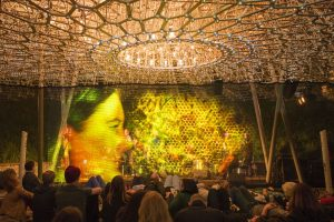 The Hive, BE.ONE performance 29 September 2016. Photo courtesy Kew Gardens