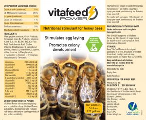 VitaFeed Power label