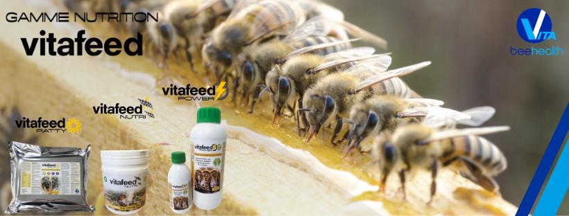 Compléments alimentaires pour abeilles Gamme nutrition VitaFeed